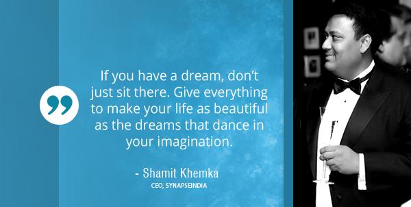 Shamit Khemka CEO SynapseIndia