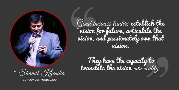 Shamit Khemka Founder Foodcloud