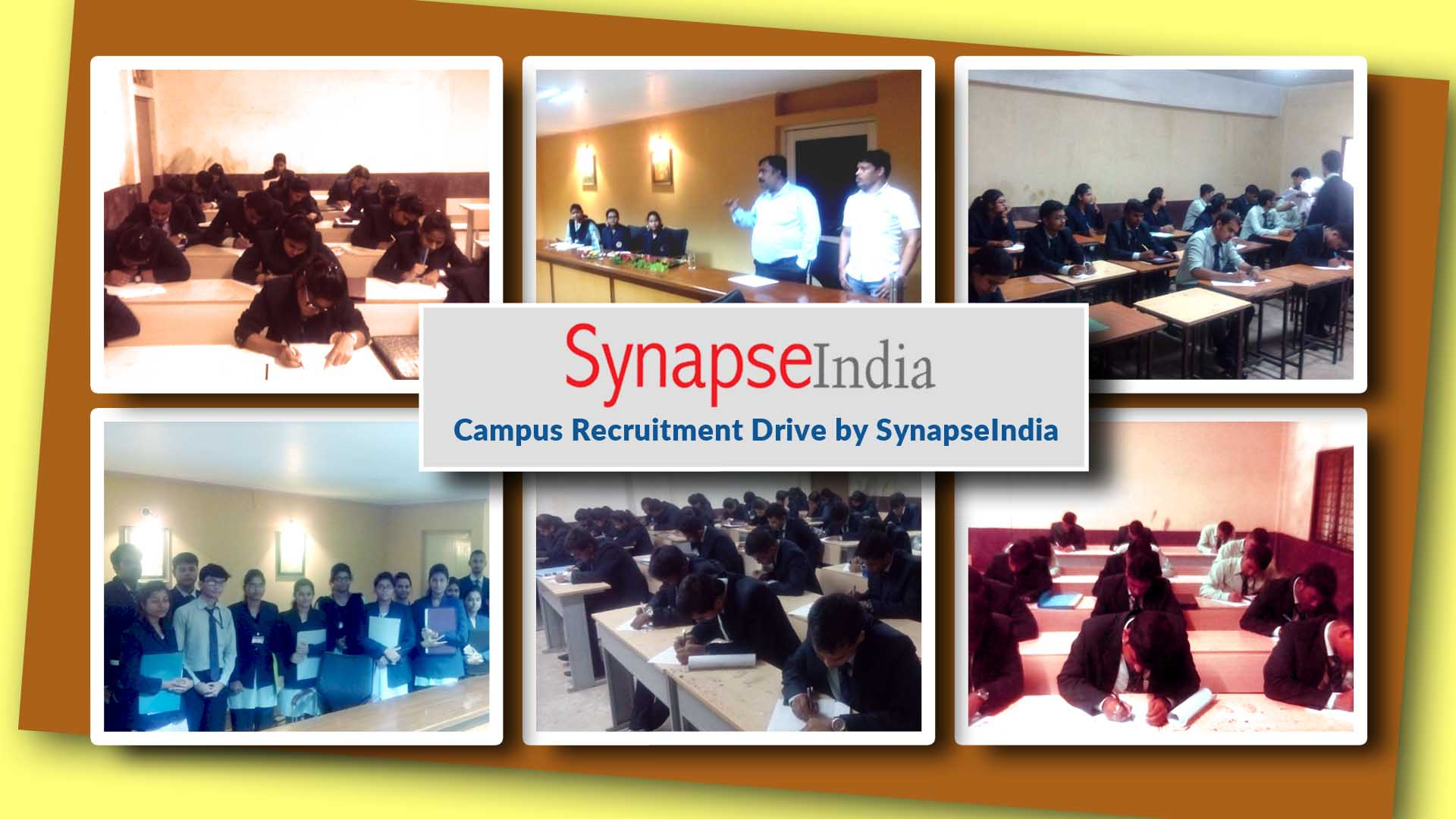 SynapseIndia Recruitment Drive at Synergy