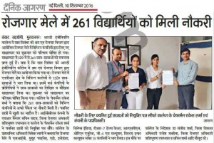 SynapseIndia participated in Mega Job fair 2