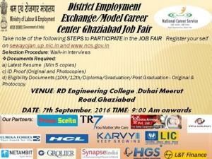 SynapseIndia participated in Mega Job fair