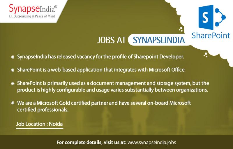 SyanpseIndia Jobs